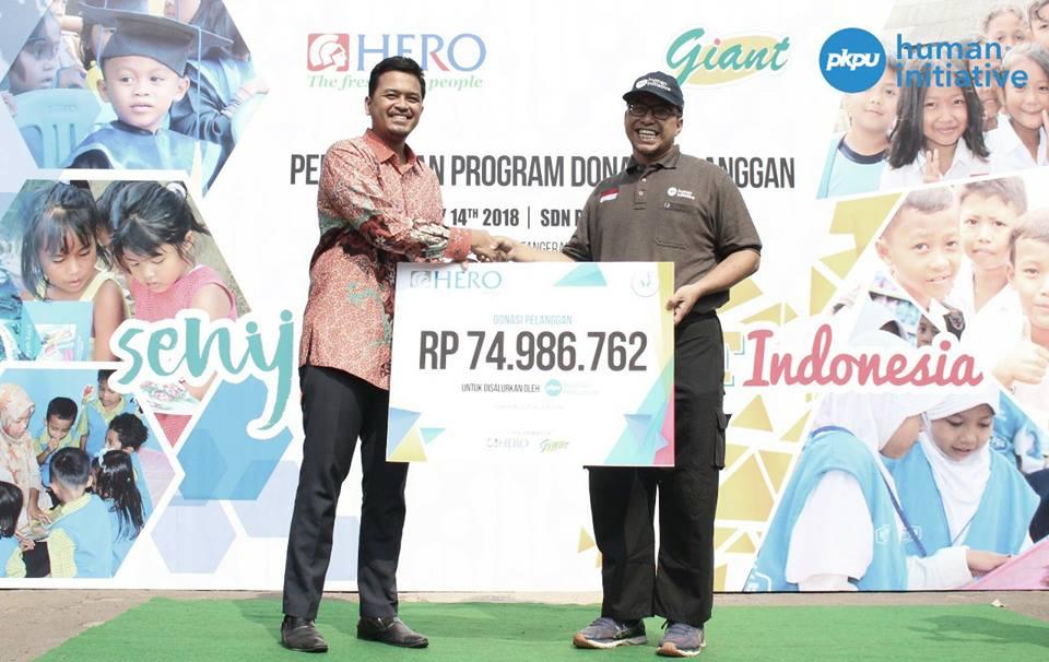 Hero Supermarket and Giant Invite PKPU Human Initiative to Run Education Program