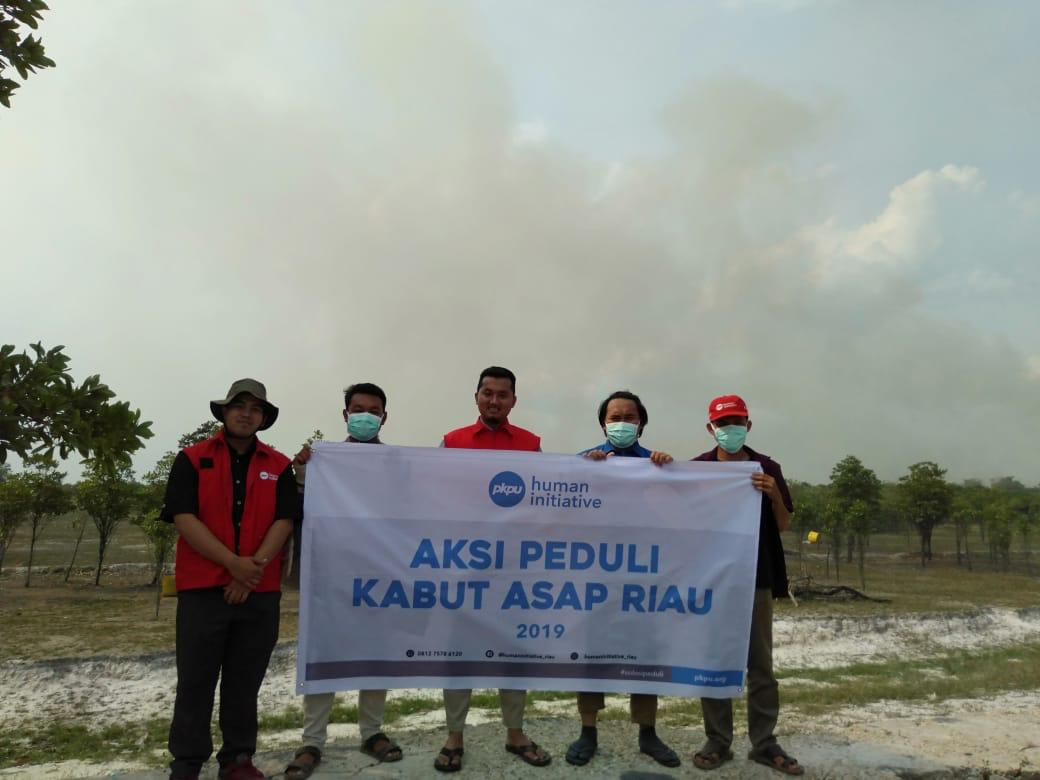Siaga Kabut Asap Riau, Human Initiative Terjunkan Tim Rescue
