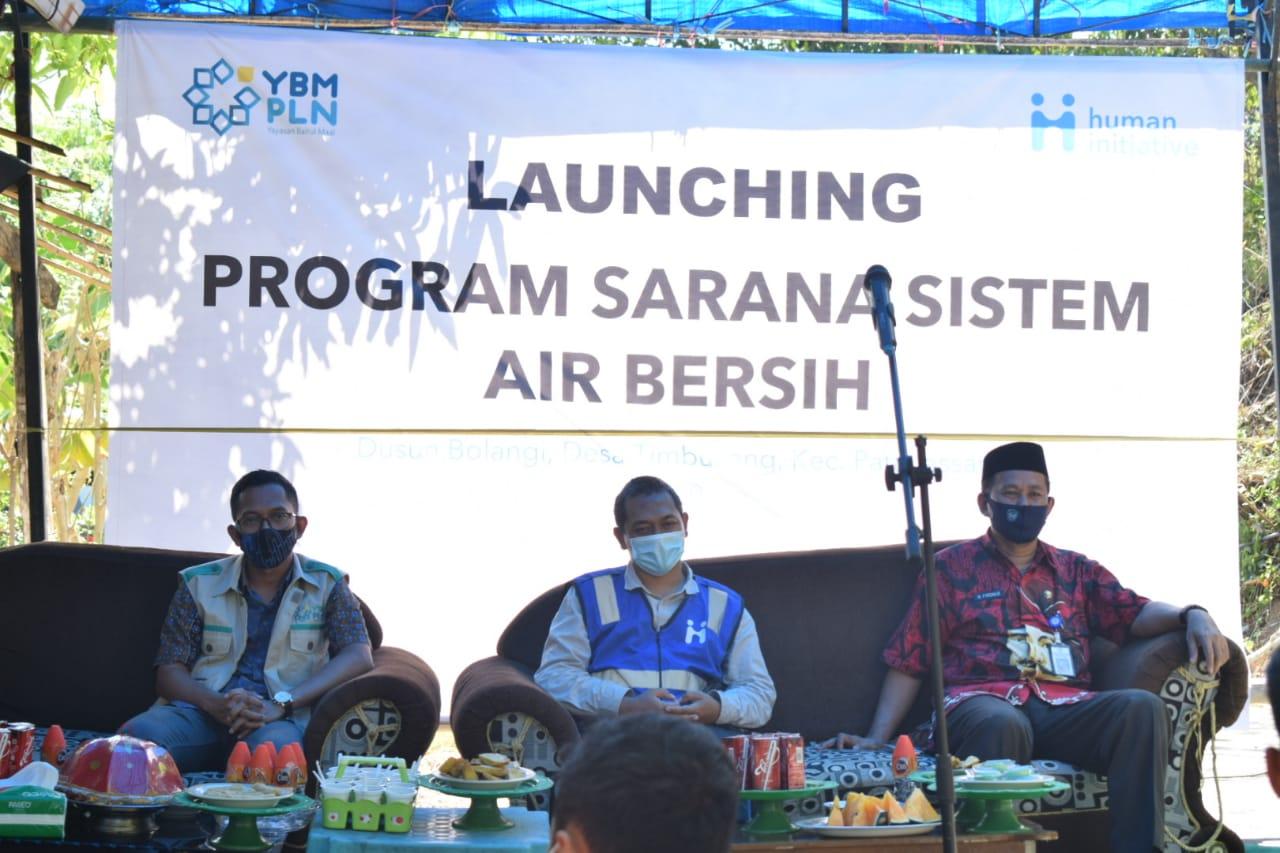 Human Initiative – YBM PLN Hadirkan Sarana Air Bersih di Dusun Bollangi