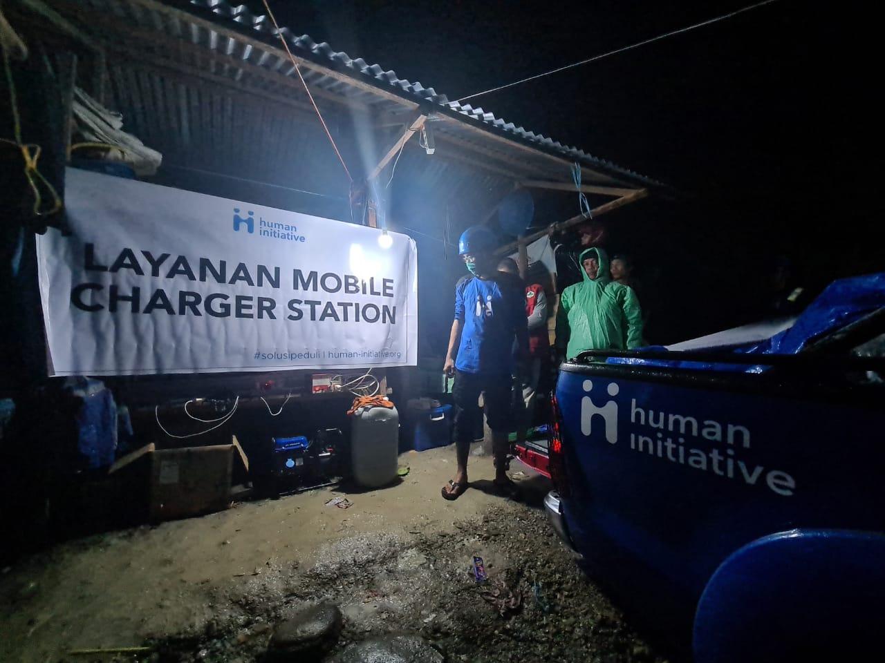 Menerobos Berbagai Rintangan, Tim Relawan Human Initiative Berhasil Sampai Majene