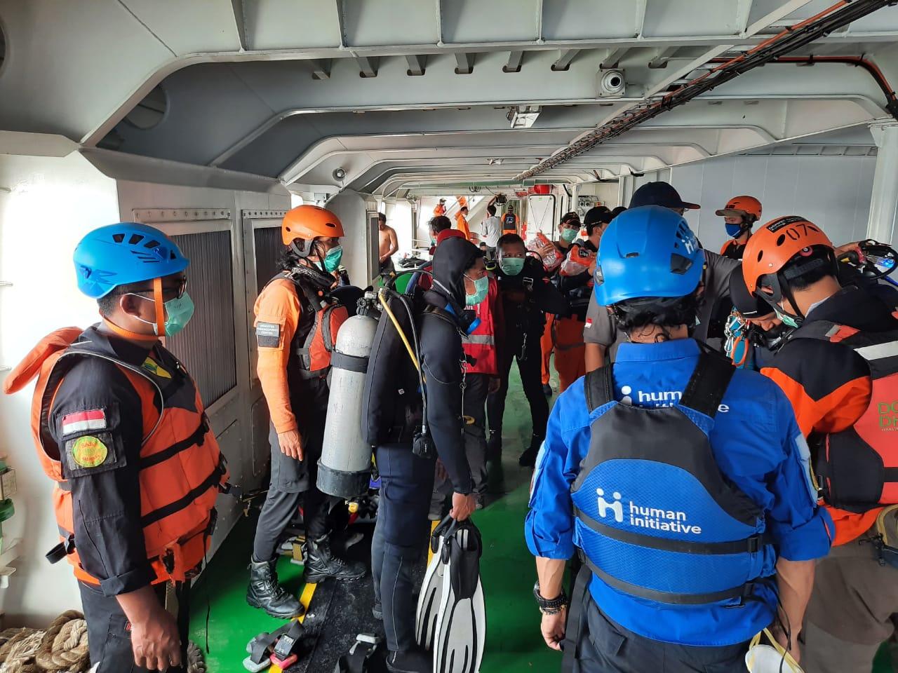 Human Initiative Helps SAR Operations to Search SJ-182 Sriwijaya Air Crash Victims