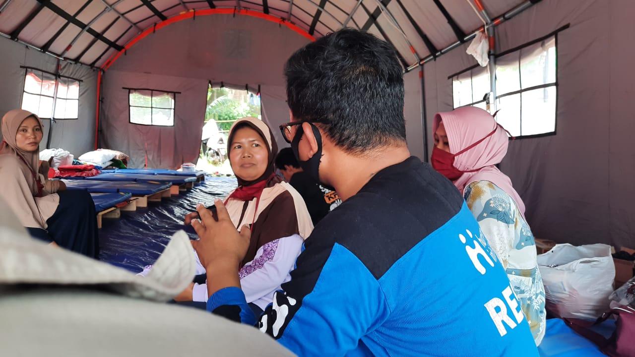 Human Initiative Sediakan Dapur Inisiatif untuk Penyintas Longsor Sumedang