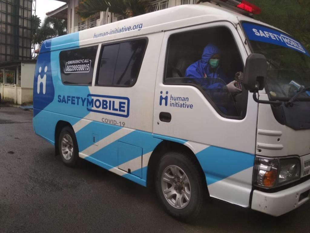 Layanan Ambulans Safety Mobile Covid-19