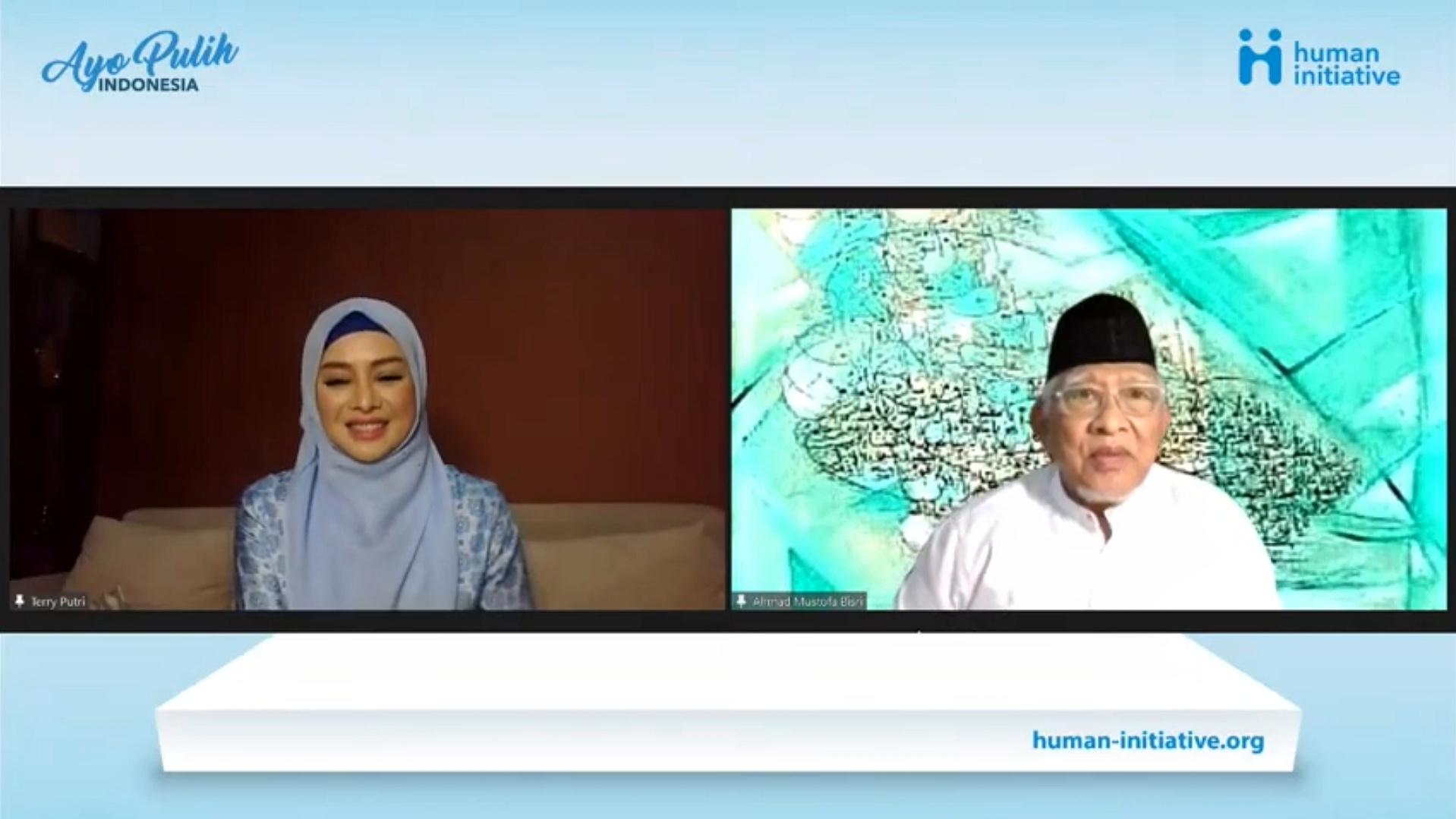 """Human Initiative Gelar Doa Bersama Tokoh Penggerak Kemanusiaan Lintas Agama bertema """"Ayo Pulih Indonesia"""""""