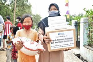 Bantuan Sembako dari Human Initiative