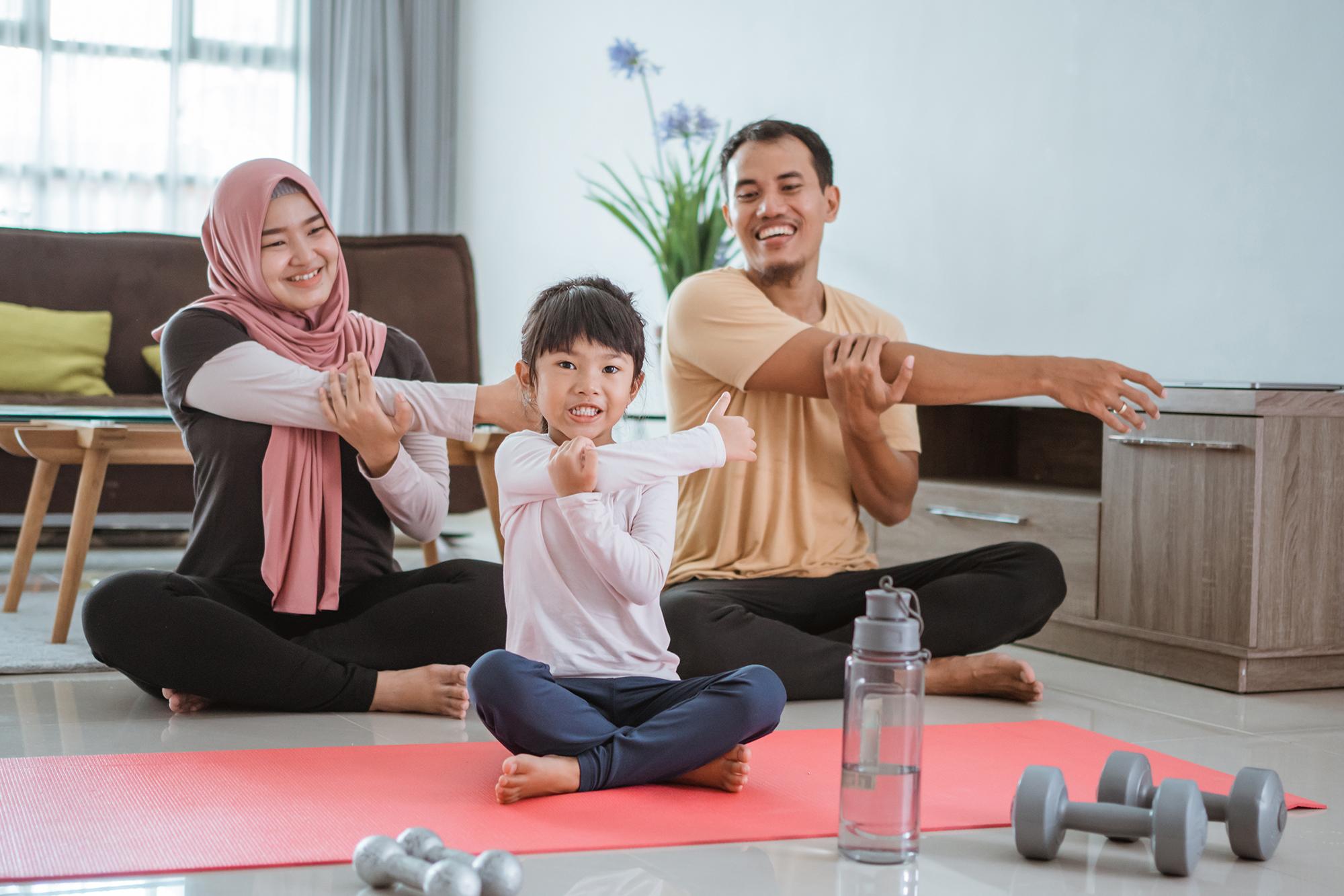 Olahraga yang Bisa Kamu Lakukan Ketika di Rumah Aja